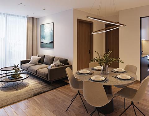 An cư viên mãn cho gia đình đa thế hệ với căn hộ 3 phòng ngủ tại BV Diamond Hill Bắc Giang