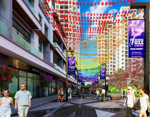 Tháp đôi Bách Việt thỏa mãn giới thượng lưu nhờ không gian sống chuẩn mực