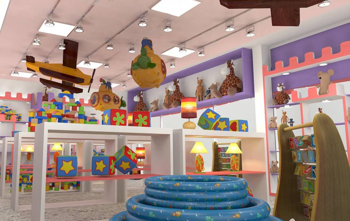 Cửa hàng đồ chơi trẻ em